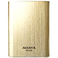 ADATA PV110 Power Bank 10400mAh zlatá