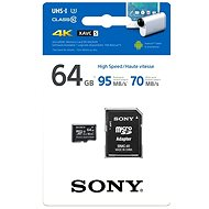 Sony Micro SDXCClass 64 gigabytes 10 + SD adapter