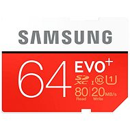 Samsung SDXC 64 Gigabyte EVO plus