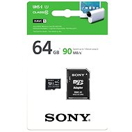 Sony's 64 gigabytes micro SDHC Class 10 UHS-I + SD Adapter