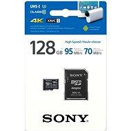 Sony MicroSDXC 128GB Class 10 UHS-I U3 + SD adaptér - Paměťová karta