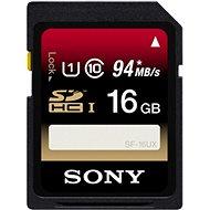 SONY SDHC 16GB Class 10 UHS-I - Paměťová karta
