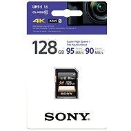 Sony SDXC Class 10 to 128 gigabytes