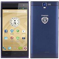Prestigio MultiPhone 5505 DUO modrý - Mobilní telefon
