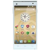 Prestigio MultiPhone 5505 DUO bílý - Mobilní telefon