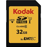 Kodak 32GB SDHC Class10 U1 - Speicherkarte