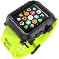 Lunatik Epik pre Apple Watch 42mm (čierny polykarbonát / zelený silikón)