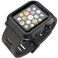 Lunatik Epik pre Apple Watch 42mm (čierne aluminium / čierny silikón)