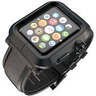 Lunatik EPIK pro Apple Watch 1 Series 42mm (černé aluminium / černá kůže)