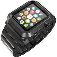 Lunatik Epik Metal Link pre Apple Watch 42mm (čierne aluminium / čierny kov)