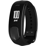 MIO SLICE black - long strap - Fitness Bracelet
