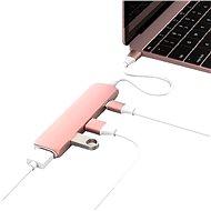 Hyper USB-C hub s 4K HDMI růžové