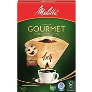 Melitta Filters 1x4 / 80 GOURMET Brown