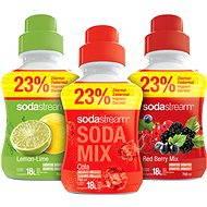 SodaStream 2 + 1 SHOP BIG Cola 750 ml
