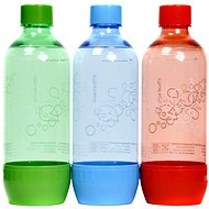 SodaStream 1 liter Tripack GREEN / RED / BLUE