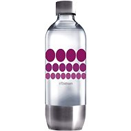 SodaStream Fľaša 1l Purple Metal - Náhradná fľaša