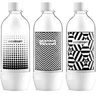 SodaStream Fľaša Tripack 1 l Black & White