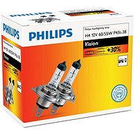 PHILIPS H4 Vision, 60 / 55W, socket P43t-38, set of 2 pieces