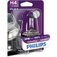 PHILIPS H4 VisionPlus, 60 / 55W, socket P43t-38