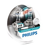 PHILIPS H4 X-tremeVision, 60 / 55W, patice P43t-38, 2 kusy