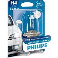 PHILIPS H4 WhiteVision 60/55W, patice P43t-38 - homologováno!