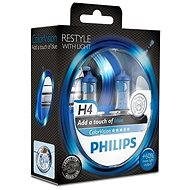 PHILIPS H4 ColorVision Blue, patice P43t-38, 2 kusy - homologováno!