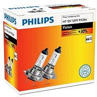 PHILIPS Vision H7, 55W, socket PX26d, 2 pieces