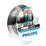 PHILIPS H7 X-tremeVision, 55W, socket PX26d, 2 pieces