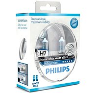PHILIPS H7 WhiteVision, 55W, socket PX26d, 2kusy + free 2x W5W