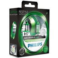 PHILIPS H7 ColorVision Green, 55W, socket PX26d, 2kusy - homologated!