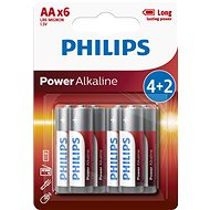 Philips LR6P6BP 6ks v balení - Baterie