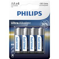 Philips LR6E4B 4 pieces in package