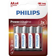 Philips LR6P4B 4 pack