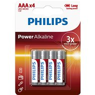 Philips LR03P4B 4 pack