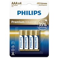 Philips LR03M4B 4 pack