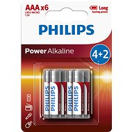 Philips LR03P6BP 6-pack