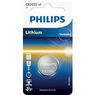 Philips CR2032 - 1db - Akkumulátor