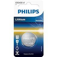 Philips CR2450 1 ks v balení - Baterie