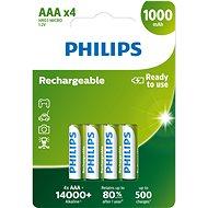 Philips R03B4RTU10 4 Stück - Akumulatoren