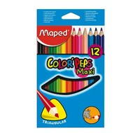 MAPED Color Peps Jumbo 12 barev - Pastelky