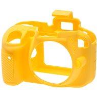 Einfache Reflex Silic Abdeckung für Nikon D3300 gelb
