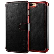 Dandy Verus Layered Leather Case black-burgundy