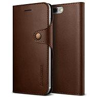 Verus Mutter Tagebuch für iPhone 7 Plus-dunkelbraun - Handyhülle