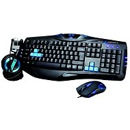 E-Blue Cobra Combatant-X Blue - Mouse/Keyboard Set