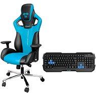 E-Blue Cobra Polygon modrá