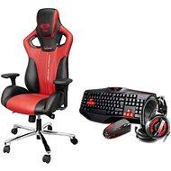 E-Blue Cobra červená - Herní židle