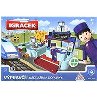 IGRÁČEK - dispatcher with the railway station and accessories