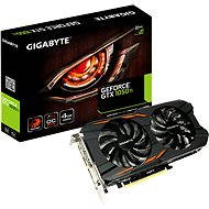 GIGABYTE GeForce GTX 1050 Ti Windforce OC 4G - Graphics Card