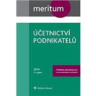 Meritum Účetnictví podnikatelů 2014 - kolektiv autorů