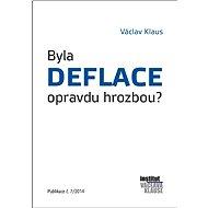 Byla deflace opravdu hrozbou? - Václav Klaus